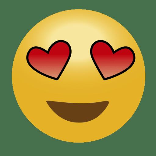 Download In love emoji emoticon - Transparent PNG & SVG vector