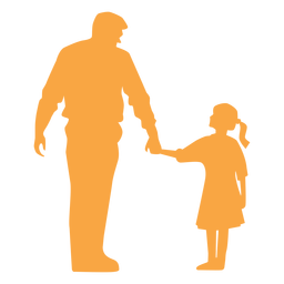 Download Dad playing with daughter - Transparent PNG & SVG vector file