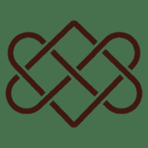 Download Celtic love knot - Transparent PNG & SVG vector file