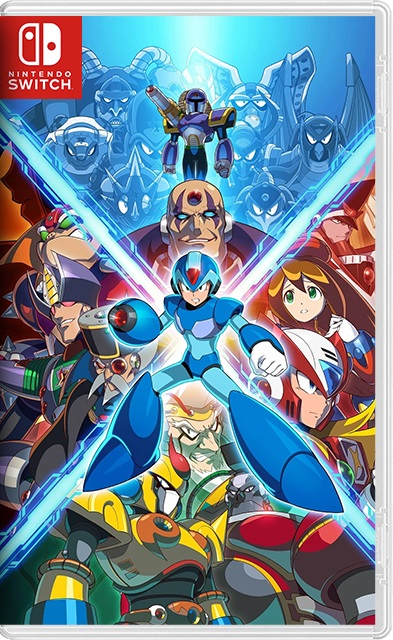 Mega Man X Legacy Collection 1+2 Switch NSP XCI