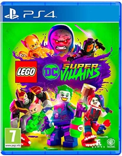 LEGO DC Super-Villains PS4 PKG