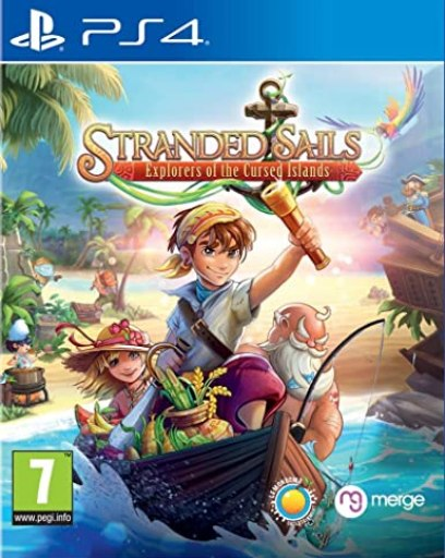 Stranded Sails - Explorers of the Cursed Islands PS4 PKG