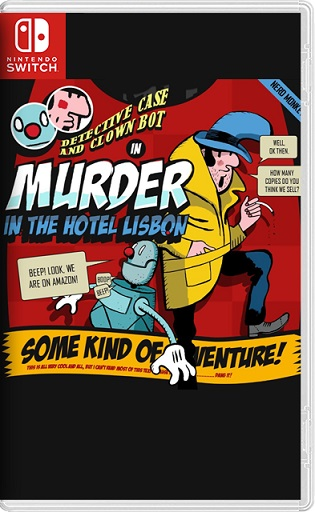 Detective Case and Clown Bot in: Murder in The Hotel Lisbon Switch NSP XCI NSZ