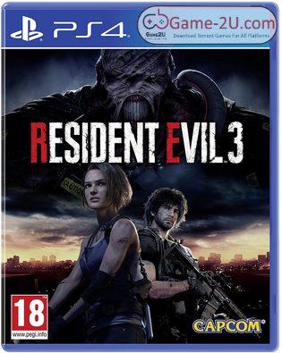 RESIDENT EVIL 3 PS4 PKG