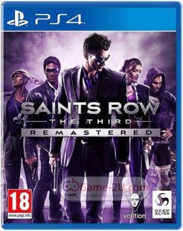 Saints Row The Third Remastered PS4 PKG