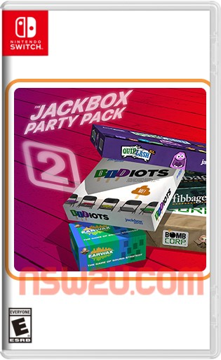 The Jackbox Party Pack 2 Switch NSP XCI