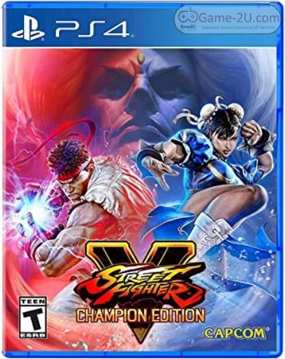 Street Fighter V Champion Edition PS4 PKG