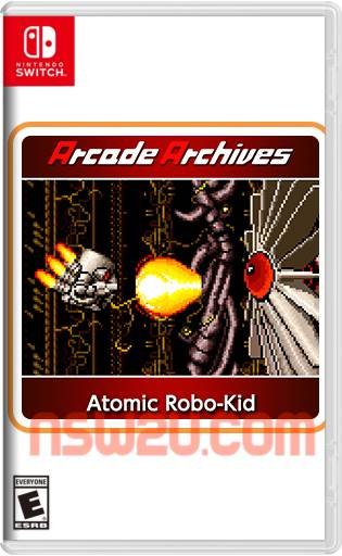Arcade Archives Atomic Robo-Kid Switch NSP XCI