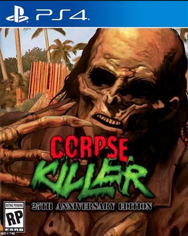 Corpse Killer - 25th Anniversary Edition PS4 PKG