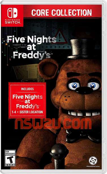 Five Nights at Freddy s The Core Collection Switch XCI NSP NSZ