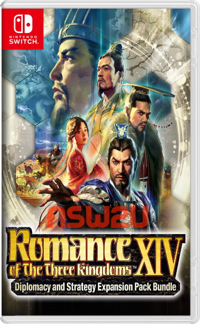 ROMANCE OF THE THREE KINGDOMS XIV Diplomacy and Strategy Expansion Pack Bundle Switch NSP XCI NSZ