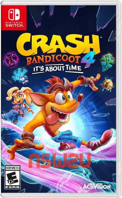 Crash Bandicoot 4 Its About Time Switch NSP XCI NSZ Download