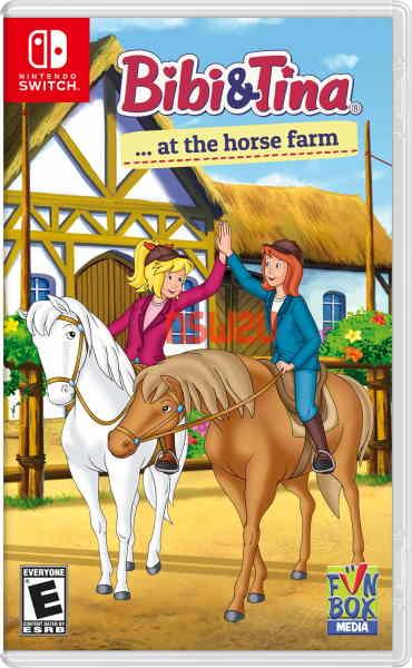Bibi and Tina at the horse farm Switch NSP XCI NSZ