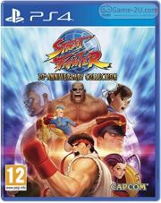 Street Fighter 30th Anniversary Collection PS4 PKG
