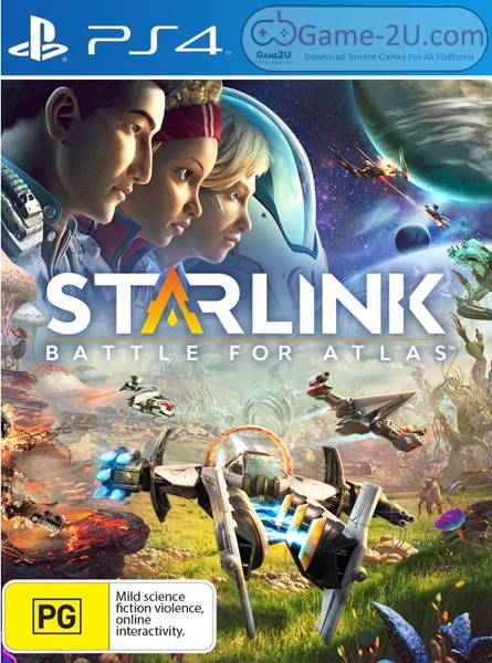 Starlink: Battle For Atlas PS4 PKG