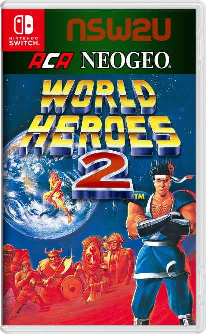 ACA NEOGEO WORLD HEROES 2 Switch NSP XCI NSZ