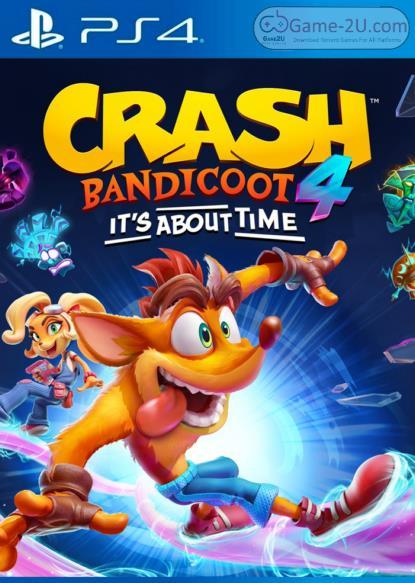 Crash Bandicoot 4 Its About Time PS4 PKG
