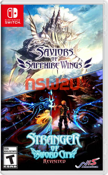 Saviors of Sapphire Wings and Stranger of Sword City Revisited Switch NSP XCI NSZ