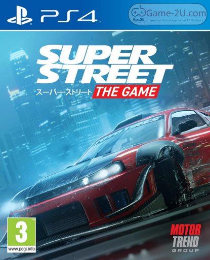 Super Street The Game PS4 PKG