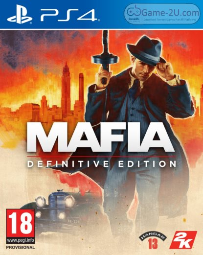 Mafia Definitive Edition PS4 PKG