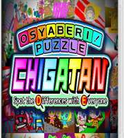 Osyaberi! Puzzle Chigatan ~Spot the Differences with Everyone~Switch NSP XCI