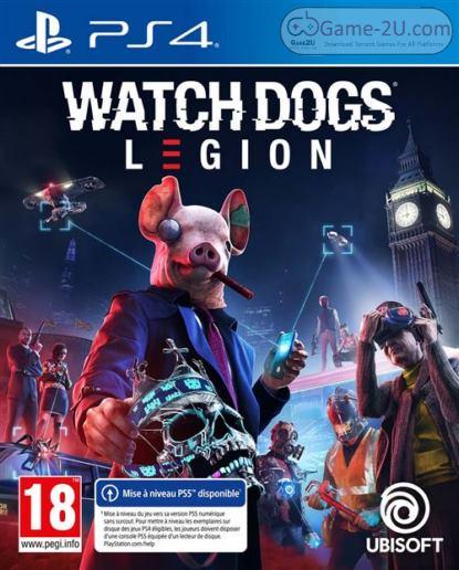Watch Dogs Legion PS4 PKG