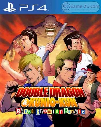 Double Dragon and Kunio-kun Retro Brawler Bundle PS4 PKG