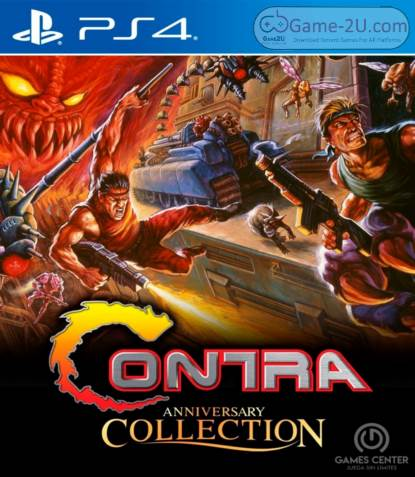 Contra Anniversary Collection PS4 PKG