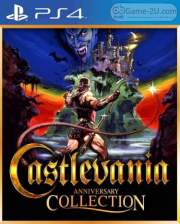 Castlevania Anniversary Collection PS4 PKG