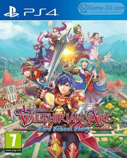 Valthirian Arc Hero School Story PS4 PKG
