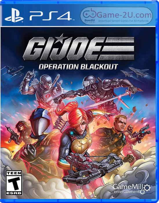 G.I. Joe Operation Blackout PS4 PKG