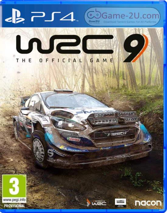 WRC 9 FIA World Rally Championship PS4 PKG