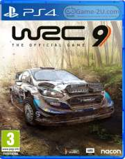 WRC 9 FIA World Rally Championship PS4 PKG