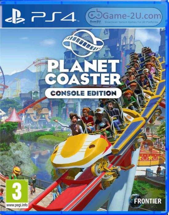 Planet Coaster Console Edition PS4 PKG