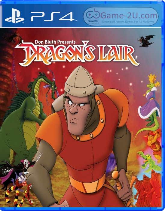 Dragons Lair Trilogy PS4 PKG