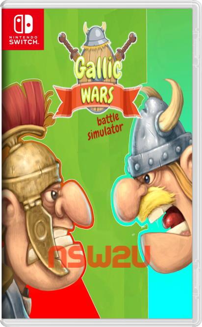 Gallic Wars Battle Simulator Switch NSP XCI NSZ