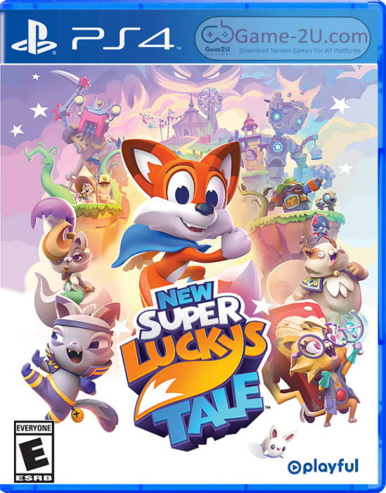 New Super Luckys Tale PS4 PKG