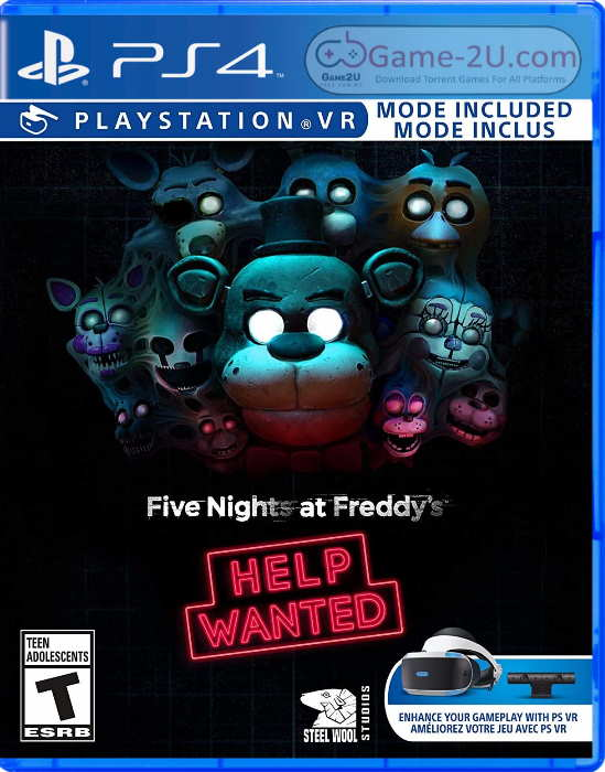 Five Nights at Freddys Help Wanted PS4 PKG