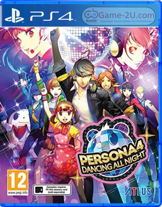 Persona 4 Dancing All Night PS4 PKG