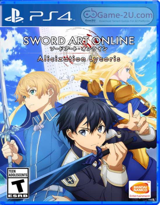 SWORD ART ONLINE Alicization Lycoris PS4 PKG