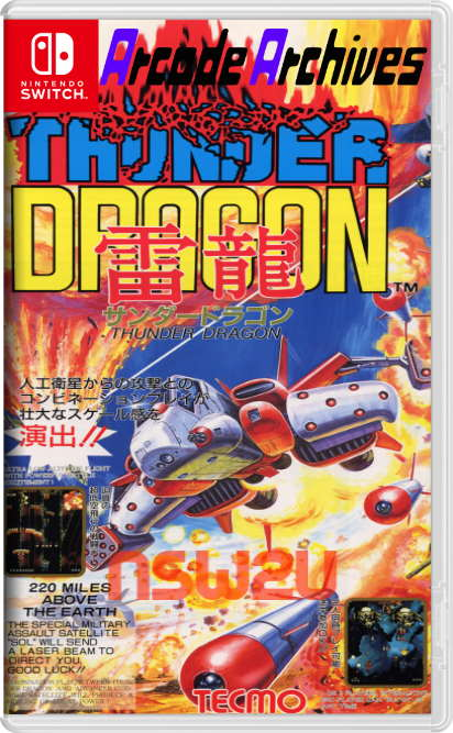 Arcade Archives THUNDER DRAGON Switch NSP XCI NSZ