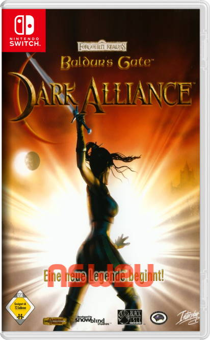 Baldurs Gate Dark Alliance Switch NSP XCI NSZ