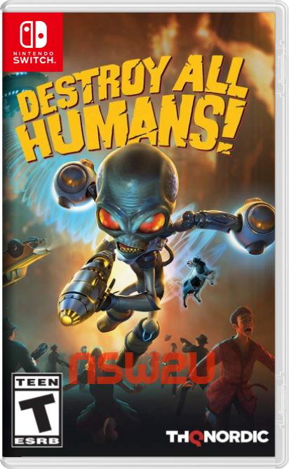 Destroy All Humans Switch NSP XCI NSZ