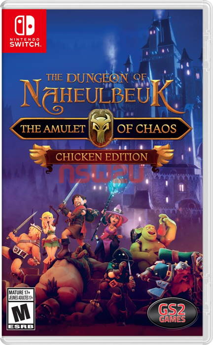 The Dungeon of Naheulbeuk The Amulet of Chaos - Chicken Edition Switch NSP XCI NSZ