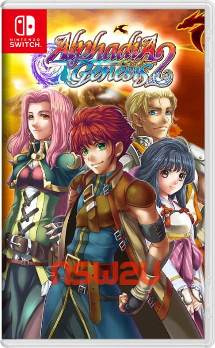 Alphadia Genesis 2 Switch NSP XCI NSZ