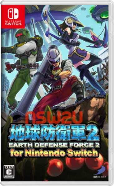 地球防衛軍2 Earth Defense Force 2 for Nintendo Switch NSP XCI NSZ