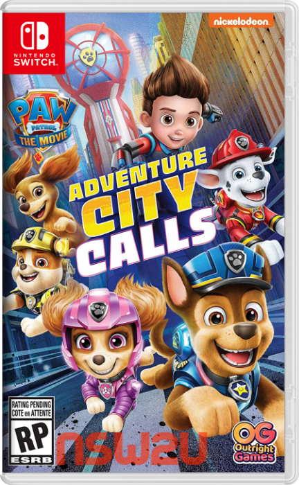 PAW Patrol The Movie Adventure City Calls Switch NSP XCI NSZ
