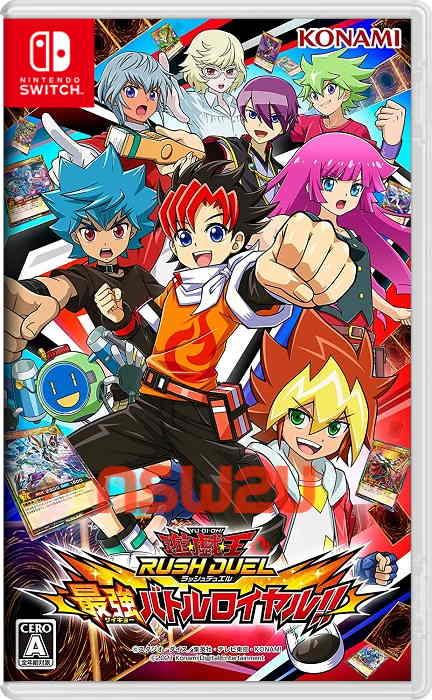 Yu-Gi-Oh Rush Duel Saikyou Battle Royale Switch NSP XCI NSZ