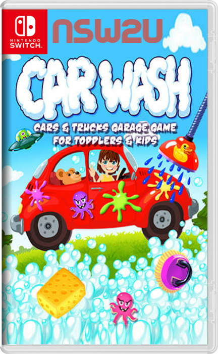 Car Wash Cars and Trucks Garage Game for Toddlers and Kids Switch NSP XCI NSZ