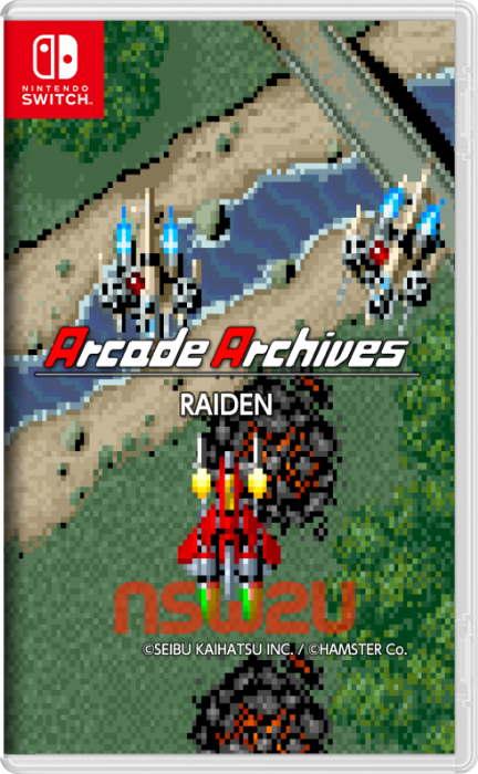 Arcade Archives RAIDEN Switch NSP XCI NSZ
